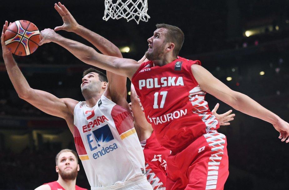 Europos krepšinio čempionatas: Ispanija - Lenkija