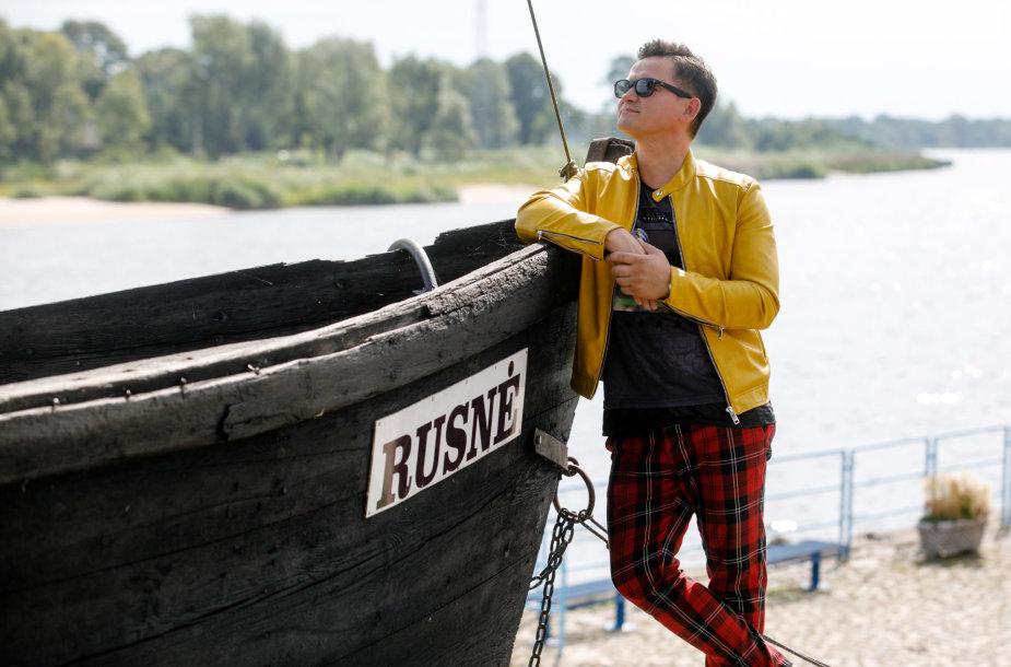 Dainininkas Valdas Lacko