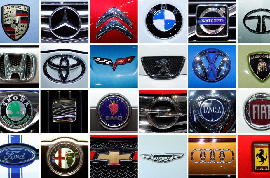 Automobilių gamintojų logotipai