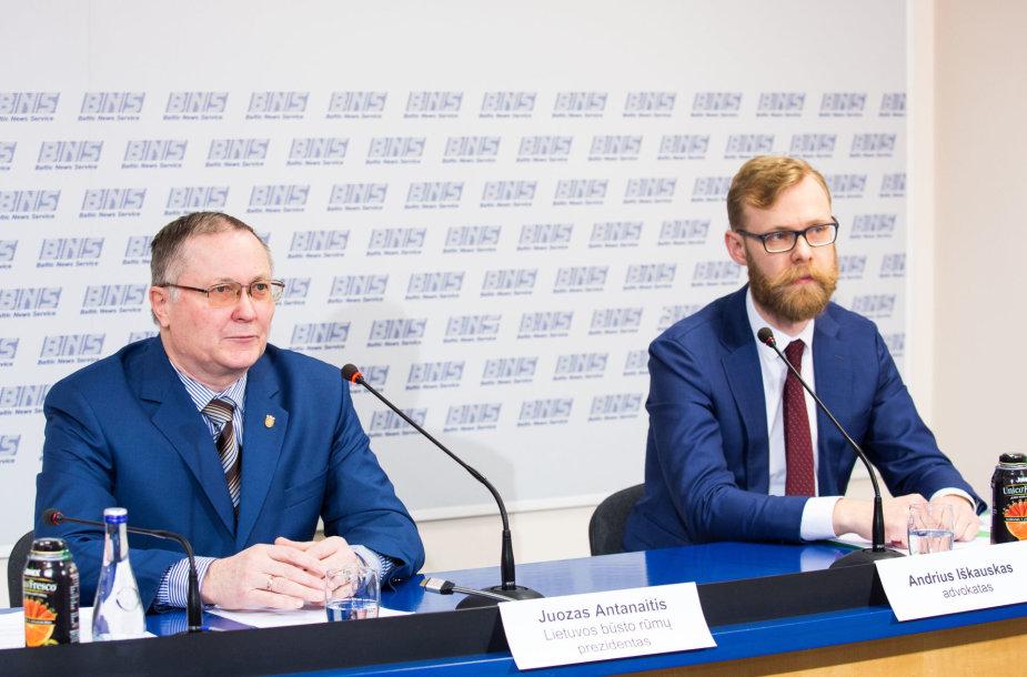 Juozas Antanaitis ir Andrius Iškauskas