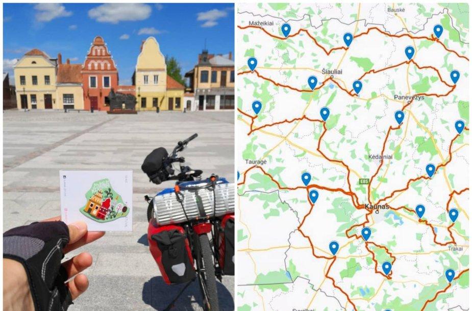 Algirdo Bielevičiaus kelionė po Lietuvą