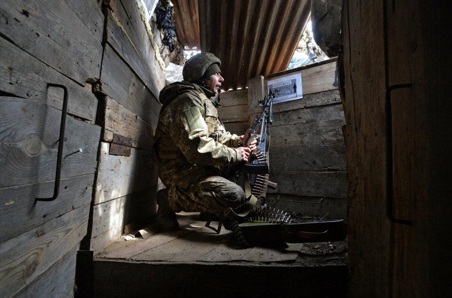 Ukrainiečių karys Donecke