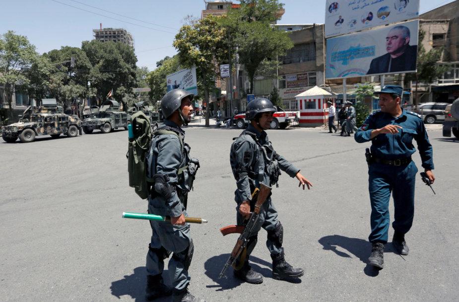 Afganistano policininkai