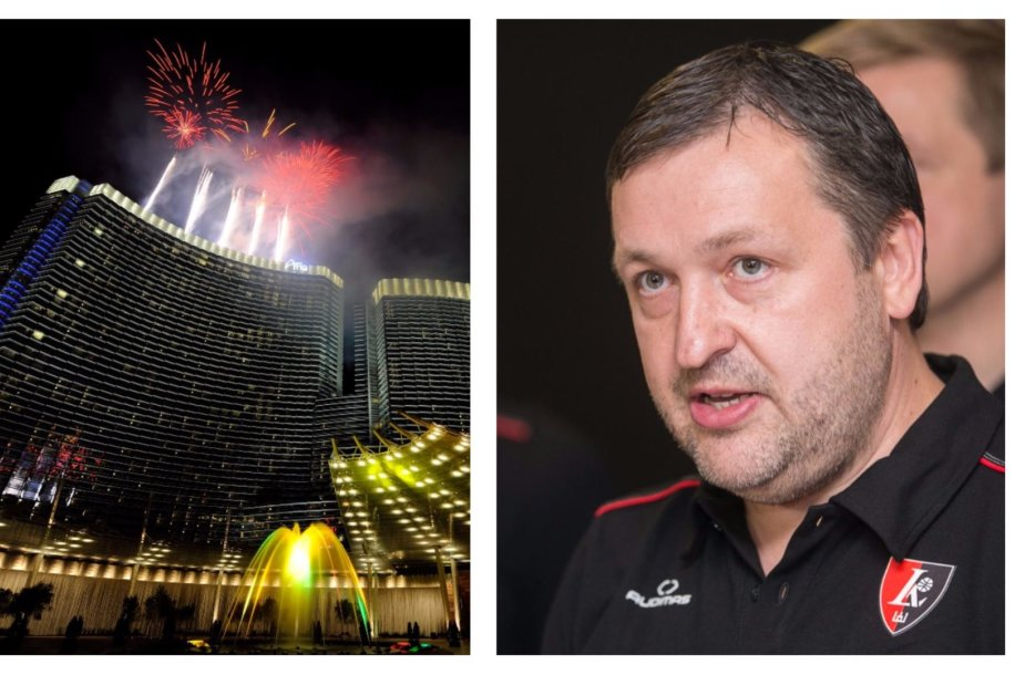 "Las Vegaso ""Aria Resort & Casino"" komplekse A.Guoga išlošė per 300 tūkst. eurų."
