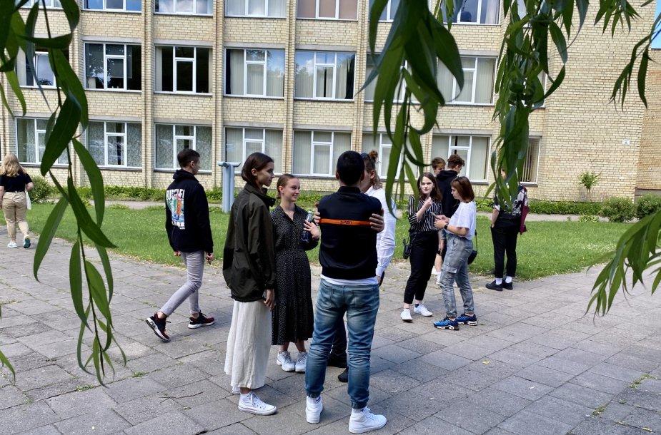 Abiturientai po anglų kalbos egzamino