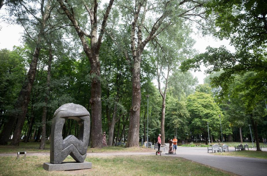 Klaipėdos skulptūrų parko ekspozicija