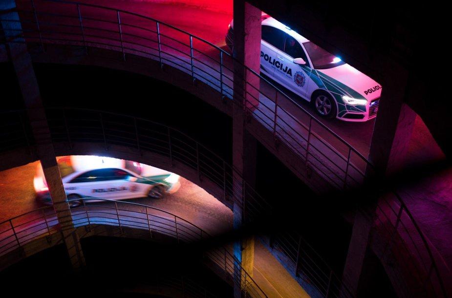 """Lietuvos kelių policijos """"Audi A6"""""""