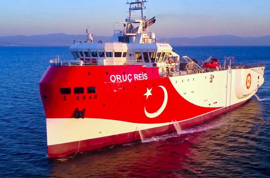 Turkijos seisminis tyrimų laivas