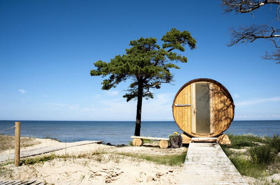 Latvijos paplūdimys