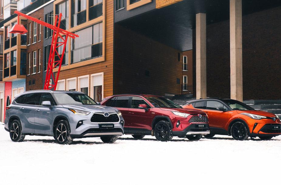 """Toyota"" hibridiniai automobiliai"