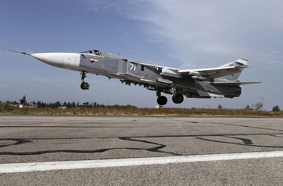 Rusijos karo lėktuvas Sirijoje