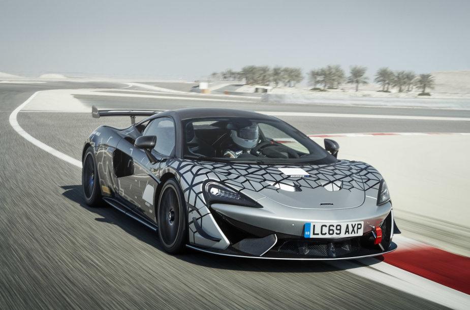 """""""McLaren"""" nuo 2035-ųjų gamins tik elektromobilius"""