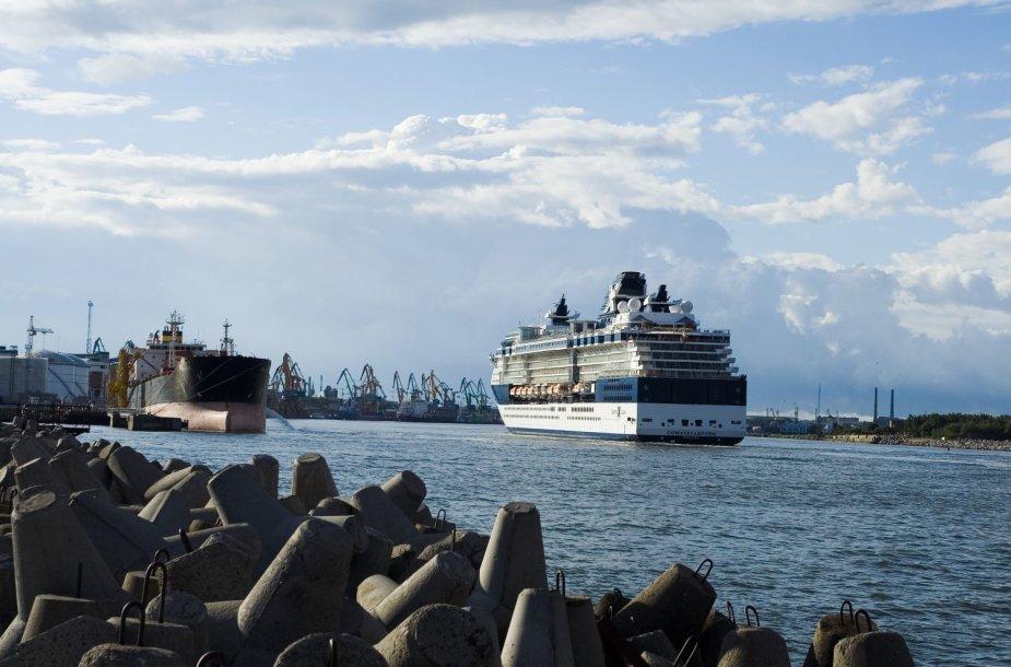 Klaipėdoje šį sezoną ketina apsilankyti 63 kruiziniai laivai.