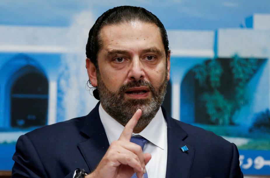 Saadas Hariri atsistatydina