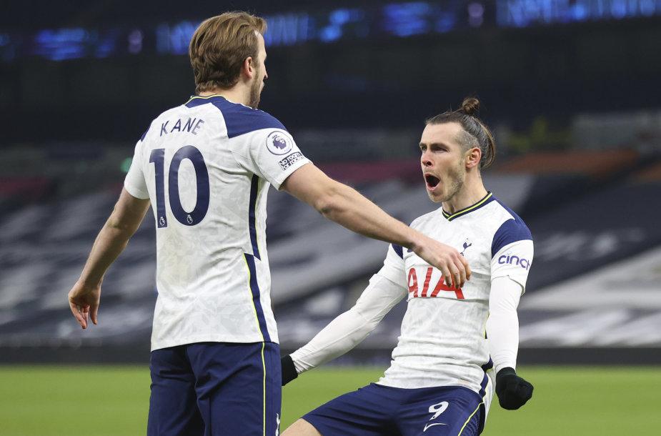 Harry Kane'as ir Garethas Bale'as