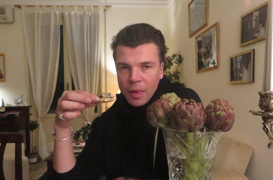 Juozas Statkevičius Romoje