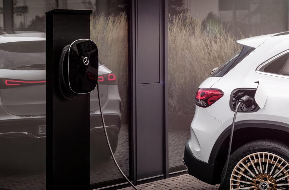 "Elektrinis SUV ""Mercedes-Benz EQA"""