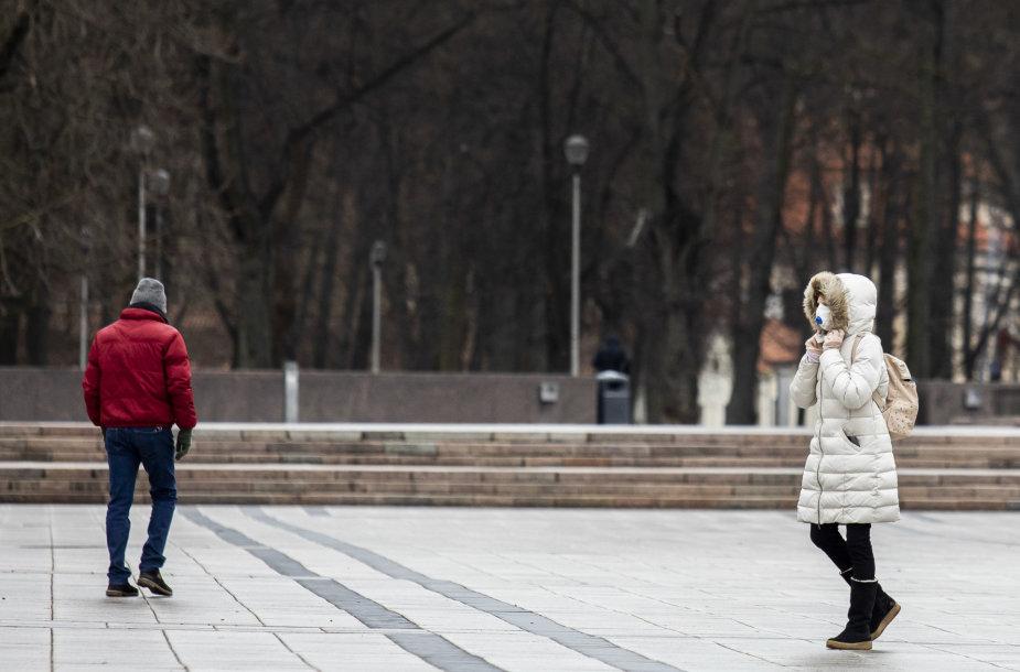 Trečioji karantino savaitė Vilniuje