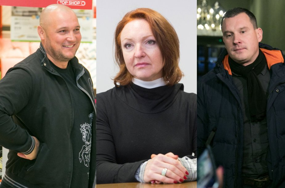Valdas Burnys, Asta Baukutė, Karolis Sakalauskas
