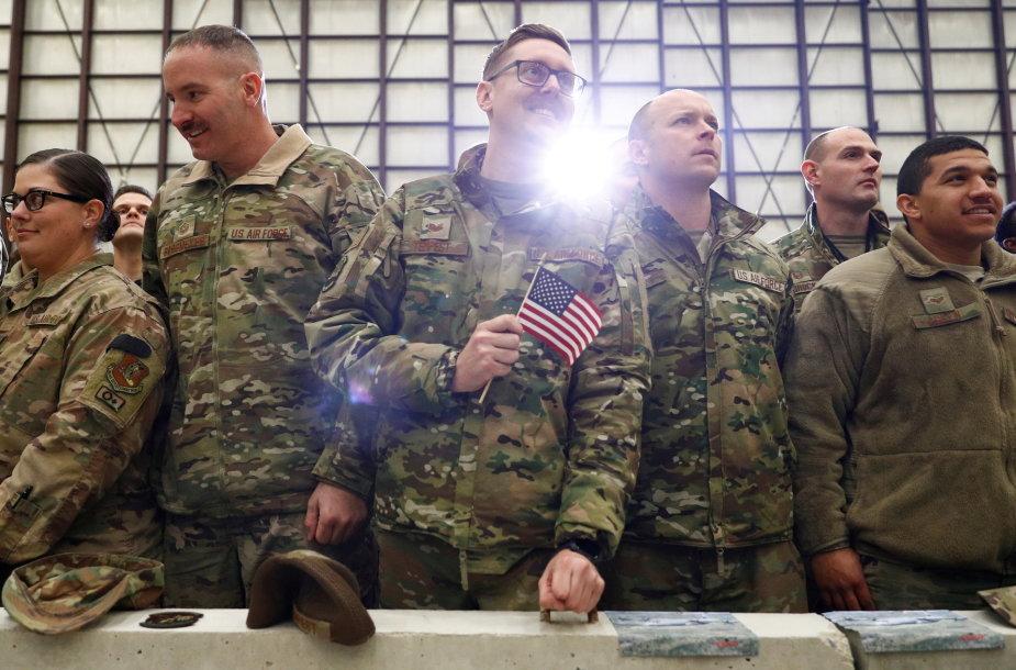 JAV kariai Afganistane