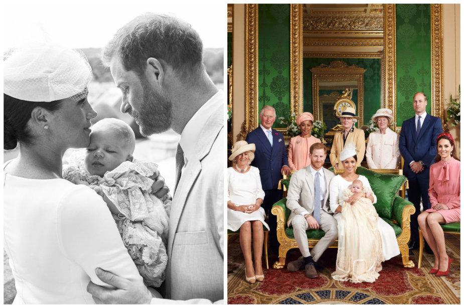 Princas Harry ir Meghan Markle su sūnumi Archie, Didžiosios Britanijos karališkoji šeima