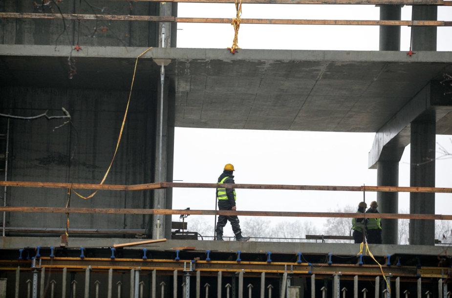 S.Dariaus ir S.Girėno stadiono statybos