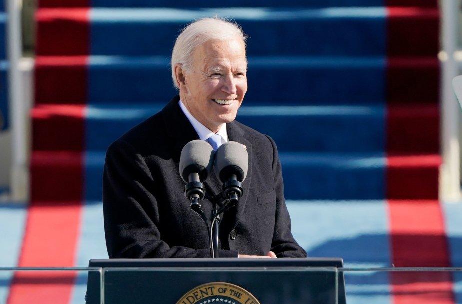 Joe Bideno inauguracijos ceremonija