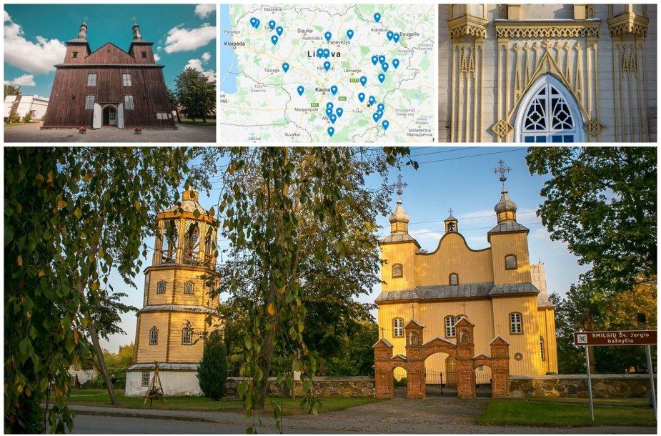 Gražiausios medinės bažnyčios Lietuvoje