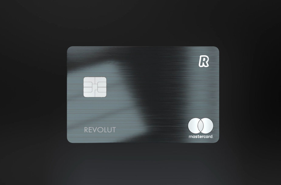 """Revolut Metal"" kortelė"