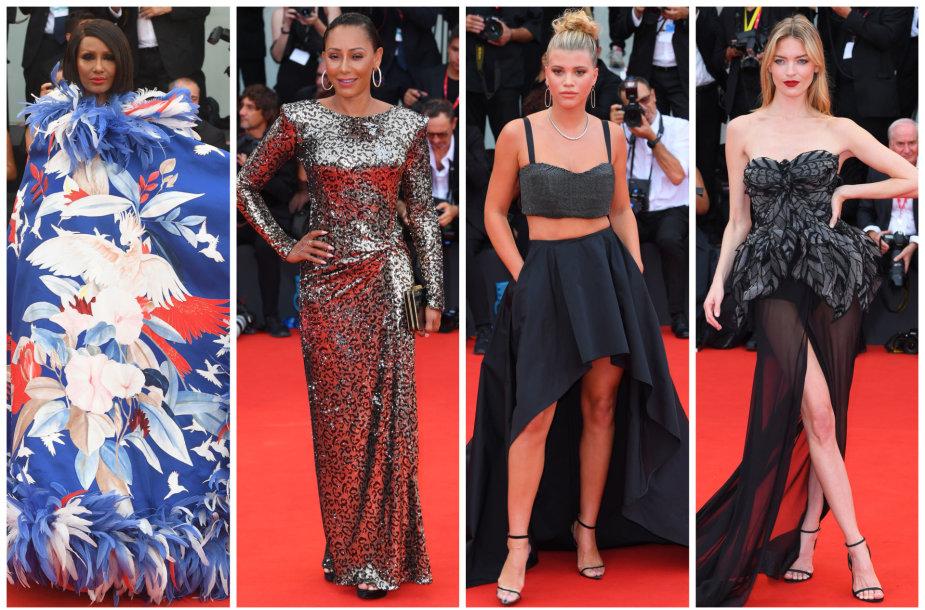 Venecijos kino festivalio raudonojo kilimo stilius