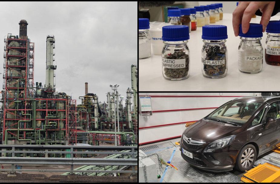"""""""Neste"""" naftos perdirbimo gamykla ir laboratorijos"""