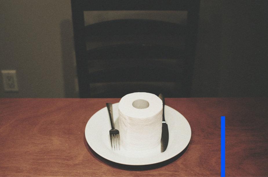 Tualetinis popierius pietums