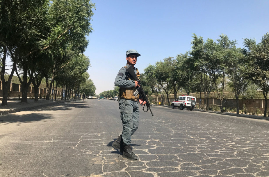 Afganistano karys prie išpuolio vietos