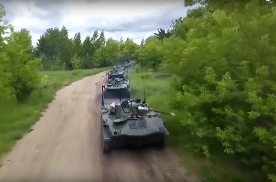 """Rusijos karinės pratybos """"Vostok 2018"""""""