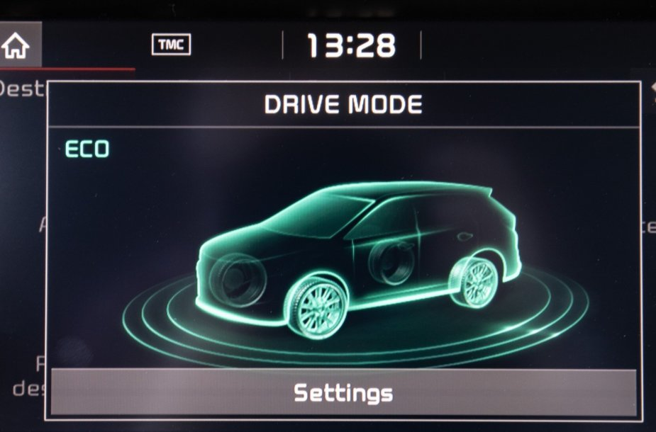 Elektromobilio vizualizacija