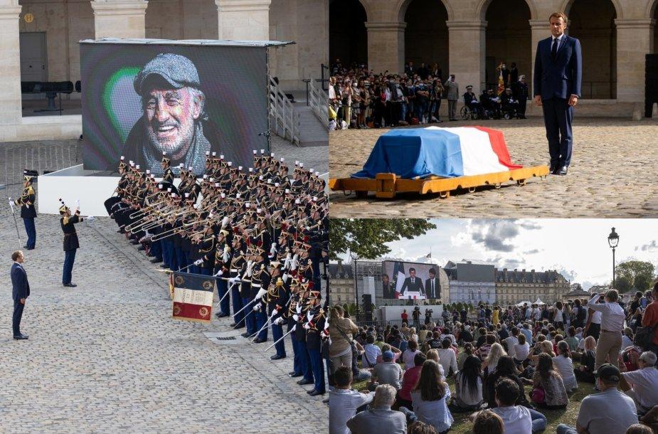 Prancūzija išlydi legendinį aktorių Jeaną-Paulį Belmondo