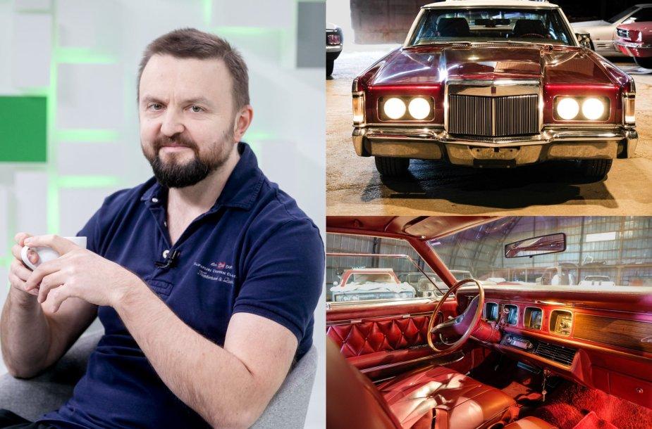 Stanislavas Stavickis-Stano ir jo automobilis