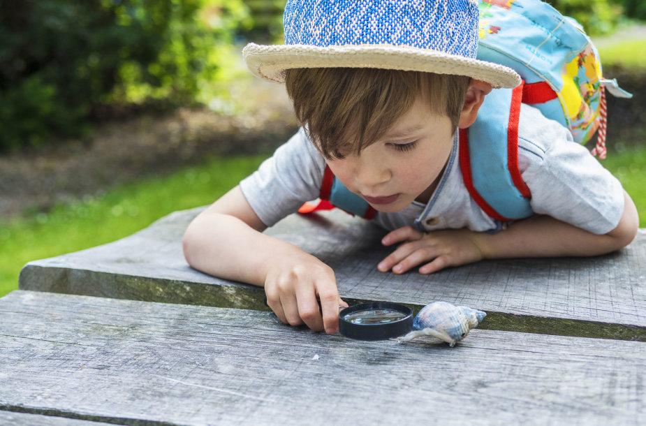 Vaikas tyrinėtojas