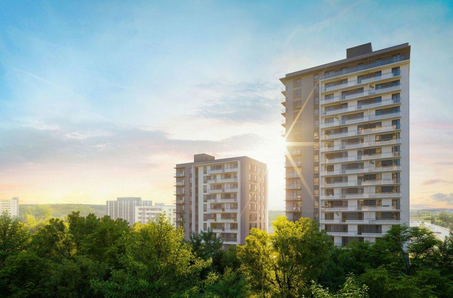 """""""Horizon"""" – A+ energinės klasės būstas vertinantiems miesto privalumus"""
