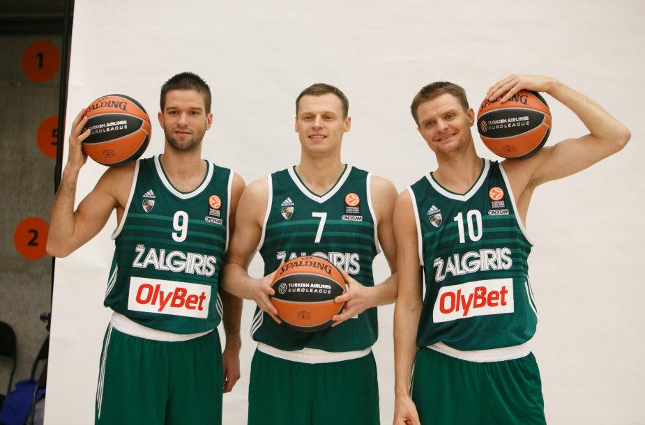 Mantas Kalnietis, Martynas Pocius ir Renaldas Seibutis
