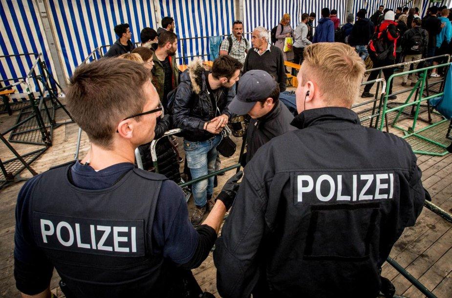 Migrantai pasiekia Vokietiją