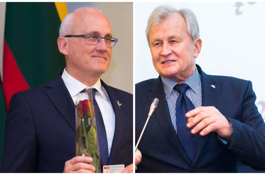 Kęstutis Glaveckas ir Stasys Jakeliūnas