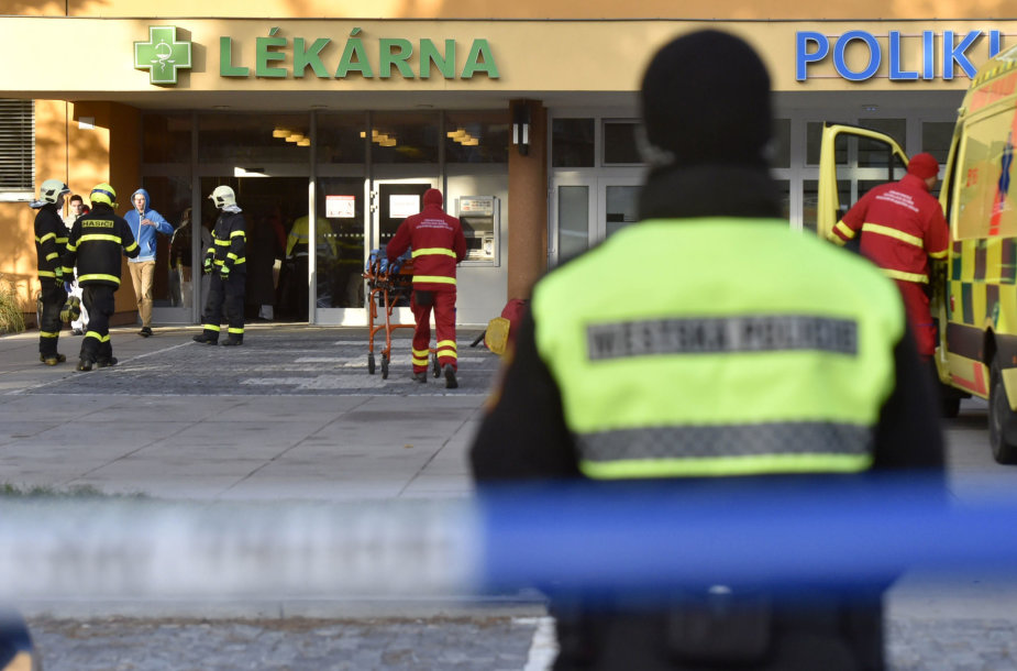Šaudynės Čekijos ligoninėje