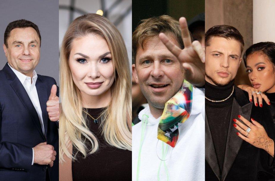 Petras Gražulis, Natalija Bunkė, Egidijus Dragūnas, OG Version, Karolina Meschino