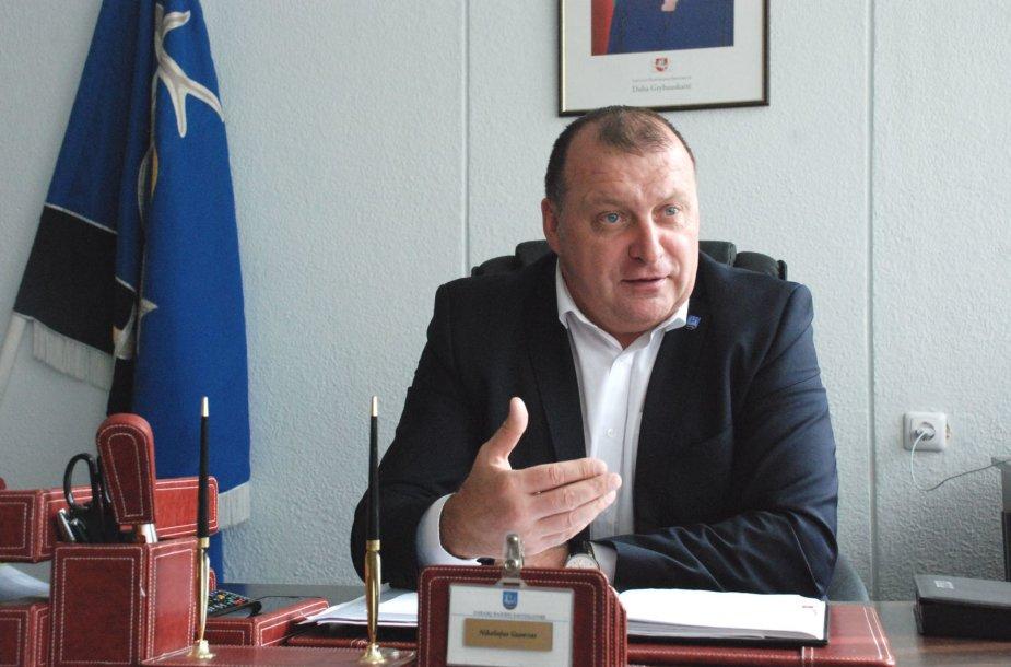 Zarasų  rajono meras Nikolajus Gusevas