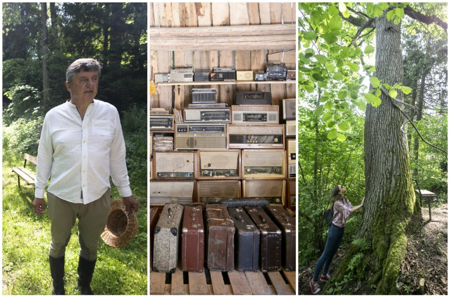 Pynėjų pora klojime įkūrė rakandų muziejų ir kviečia į lietuviškąsias džiungles