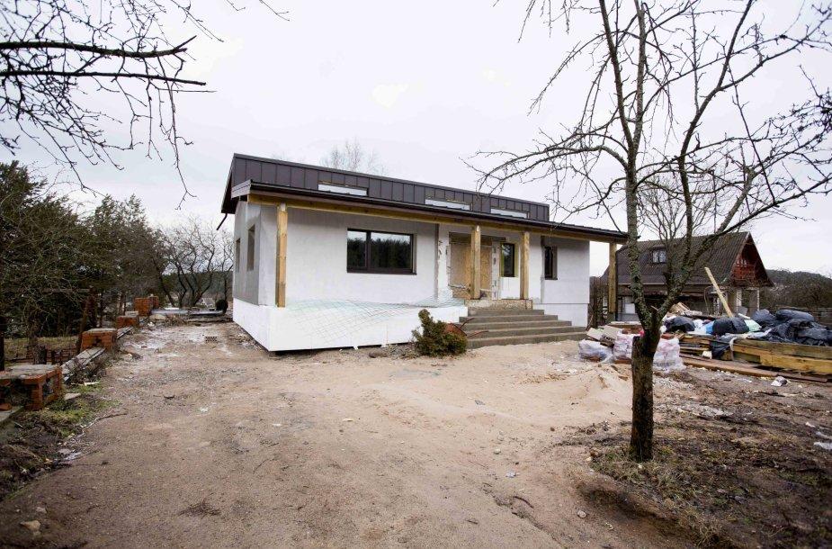 Ž.Mikėnaitės namas Elektrėnų rajone
