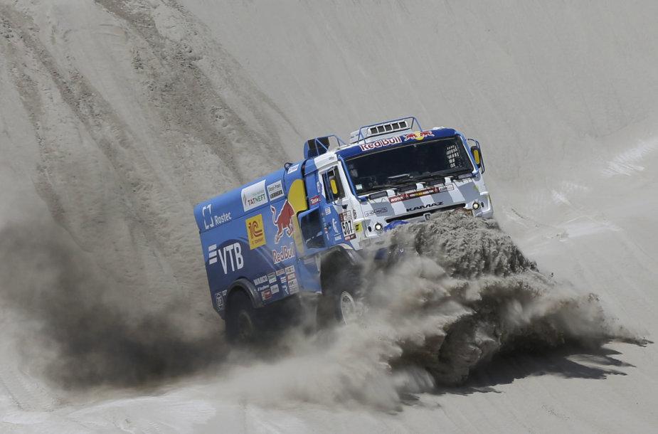 Dakaras 2018: lietuviams kankyne tapęs 11-asis greičio ruožas