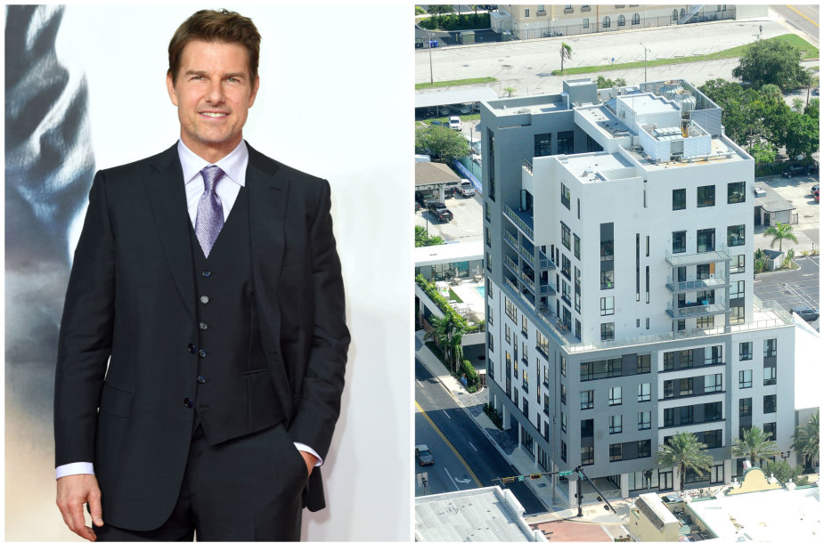 Tomas Cruise'as ir jo apartamentai Klirvoterio mieste