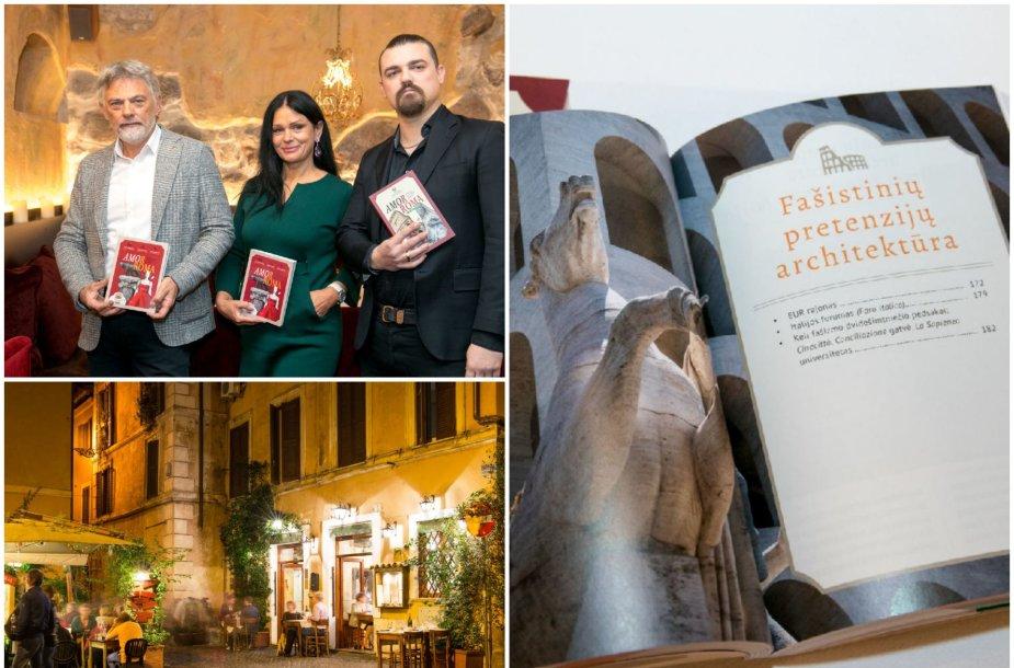 Jurkevičių knygų apie Italiją pristatymas